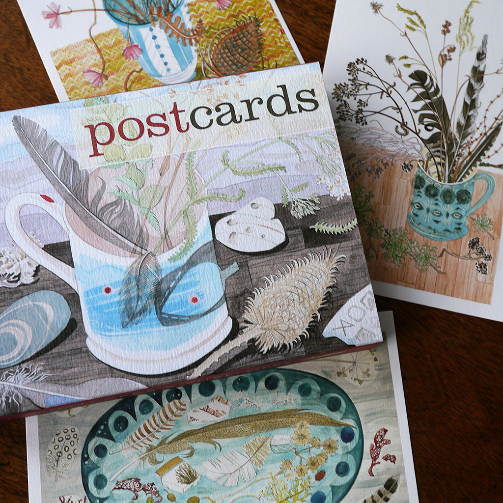 Watercolour postcards - Angie Lewin