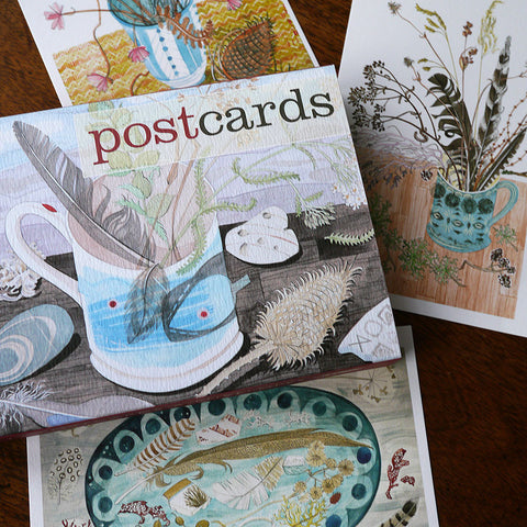 Watercolour postcards