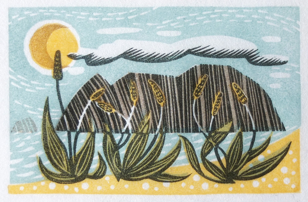 Sea Plantain - Angie Lewin
