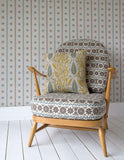 Angie Lewin wallpaper - Spey Stripe