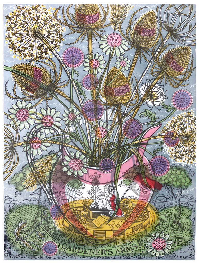 The Gardener's Arms - Angie Lewin