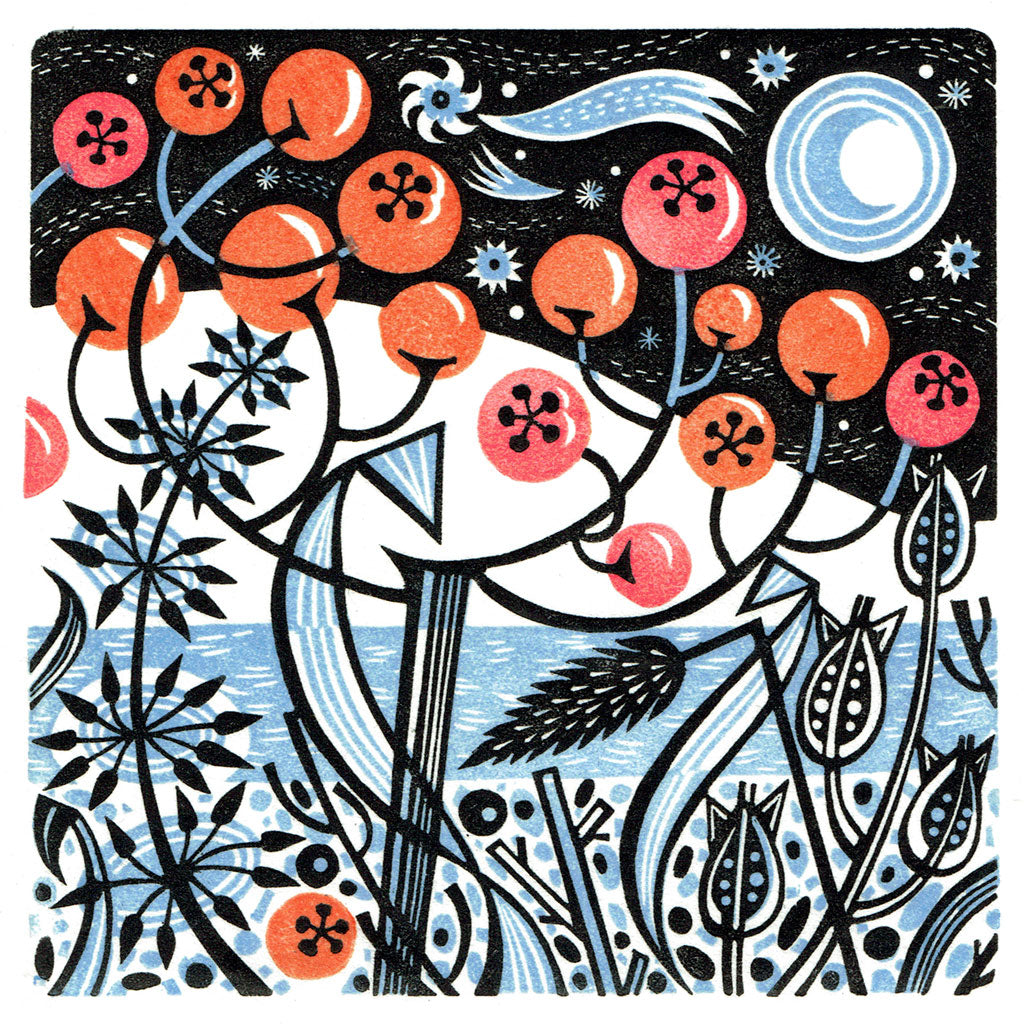 Winter Berries - Angie Lewin