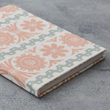 Fabric covered notebooks - Angie Lewin