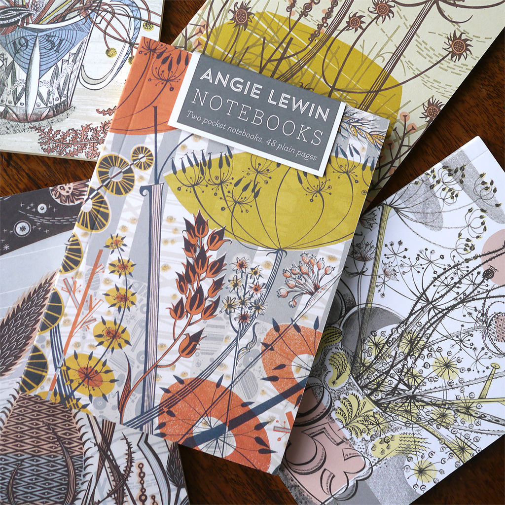 Pocket notebooks - Angie Lewin