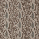 Angie Lewin - Meadow's Edge fabric for St Jude's - charcoal/dawn grey