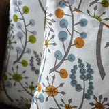 Hedgerow - screen printed fabric for St. Jude's - by Angie Lewin - covers