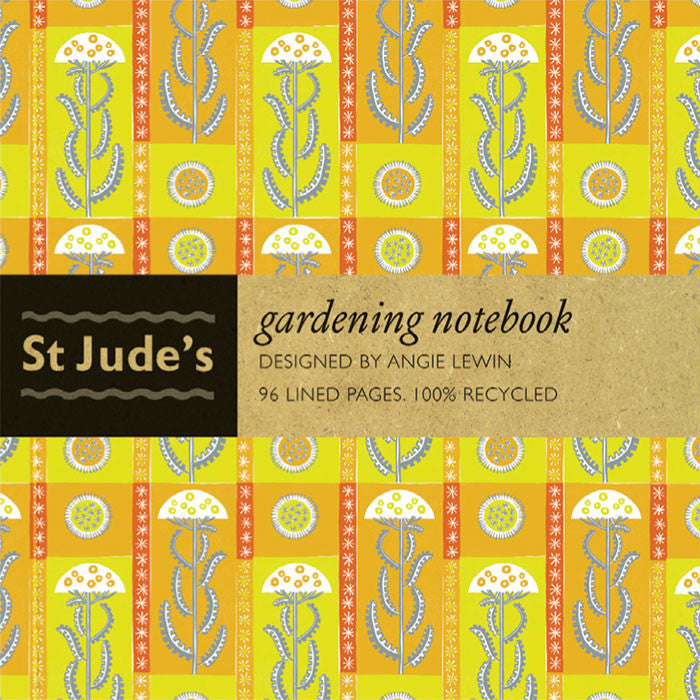 Gardening note for St. Jude's - designed by Angie Lewin