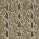 Angie Lewin - Meadow's Edge fabric for St Jude's - green/charcoal