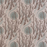 Birch Tree Sun - Angie Lewin - screen printed fabric for St Jude's Fabrics