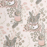 Nature Table - an Angie Lewin wallpaper for St Jude's