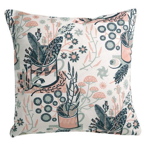 Nature Table cushion covers