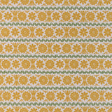 Stellar - fabric for St Jude's by Angie Lewin - mustard/green