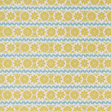 Stellar - fabric for St Jude's by Angie Lewin - quince/blue