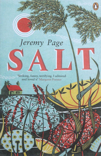 Salt - book jacket illustration by Angie Lewin