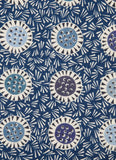 Winter Thistle - dress fabric for Liberty - by Angie Lewin