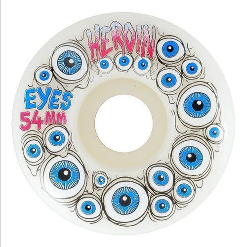 Heroin Glow in the Dark Eyes Wheels - 54mm