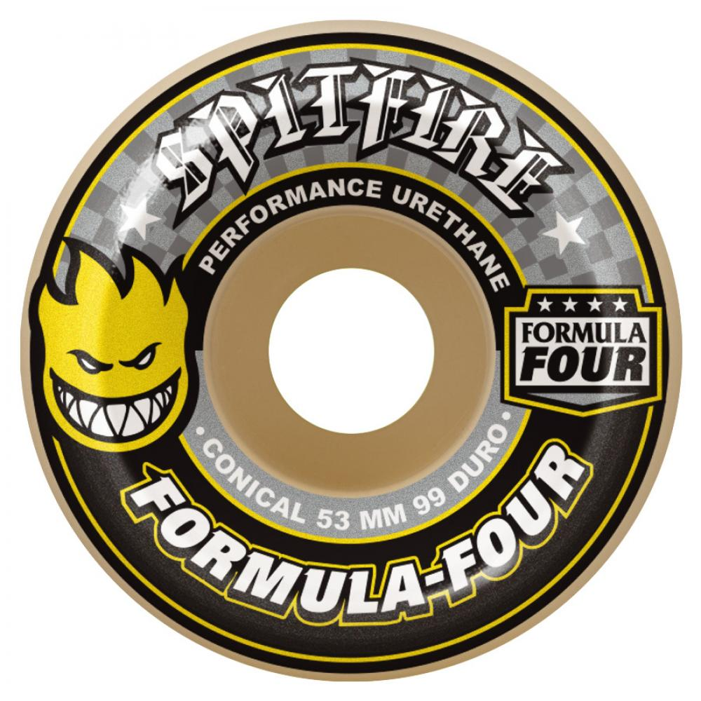 Spitfire Formula Four Conical 99d Wheels - 52mm