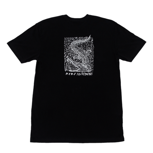 WKND Alligator Girl Tee - Black
