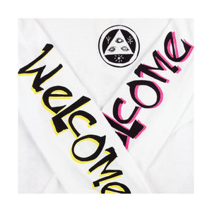 Welcome Animal Kingdom L/S - White