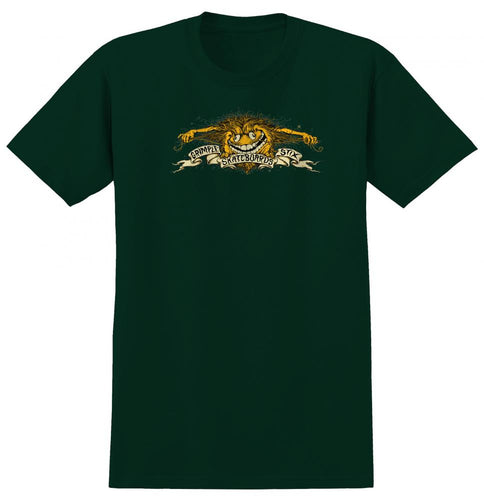 Anti Hero Grimple Stix Grimple Eagle Tee - Forrest Green