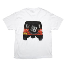 Load image into Gallery viewer, Bronze 56k JEEP Tee - White