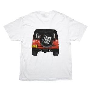 Bronze 56k JEEP Tee - White