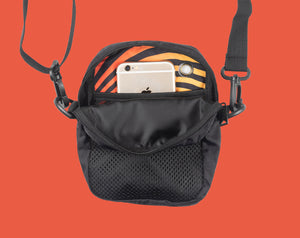 The Bumbag Co Cheif Compact Shoulder Bag - Black