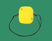Load image into Gallery viewer, The Bumbag Co Explored Compact Shoulder Bag - Yellow