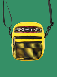 The Bumbag Co Explored Compact Shoulder Bag - Yellow