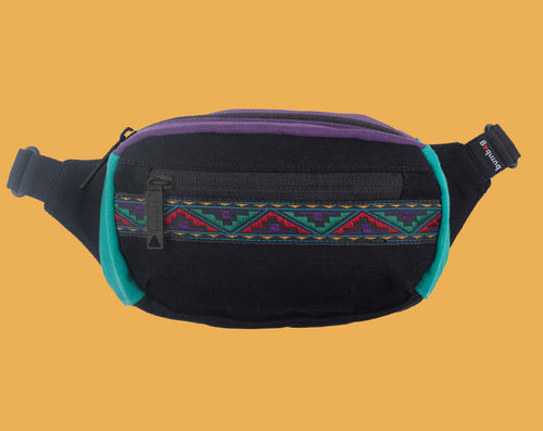 The Bumbag Co Java Mini Hip Bag - Black
