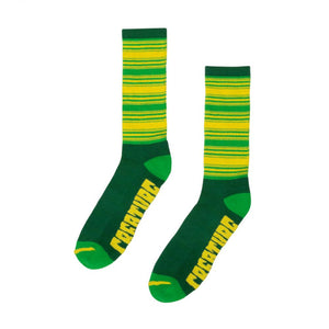 Creature Transition Socks - Kelly/Lime