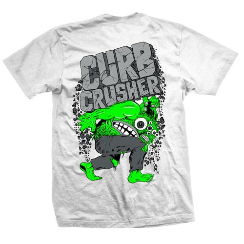 Heroin Curb Crusher XL Tee - Ash