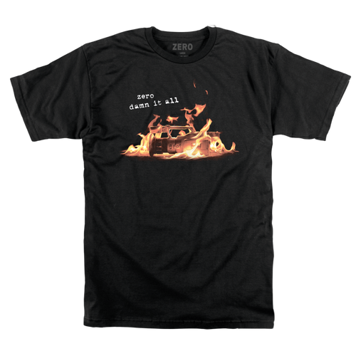 Zero Damn It All VX Tee - Black
