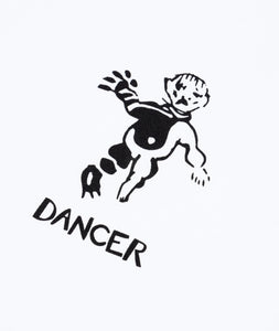 Dancer OG Logo Tee - White