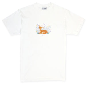 Skateboard Cafe Doe Tee - White