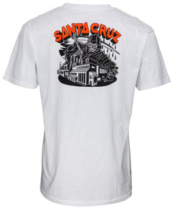 Santa Cruz Fate Factory Tee - White