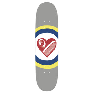 Free Dome SK8 Heart Deck - 8.25""