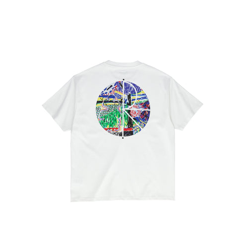 Polar Skate Co Garden Fill Logo Tee - White