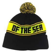 Load image into Gallery viewer, Antihero x Gnarhunters Pigeon of the Sea Beanie - Black/Yellow