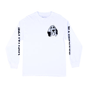 Quasi Happiness Longsleeve - White
