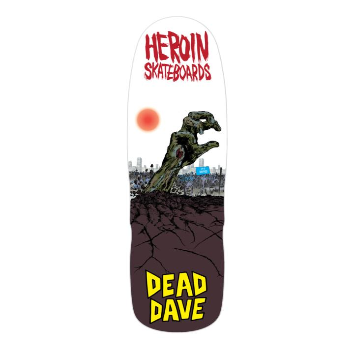 Heroin Dead Dave Lives Mutant Deck - 10.0