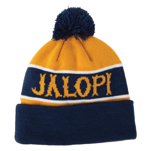 Antihero Jalopi Skate Co Beanie - Navy/Gold