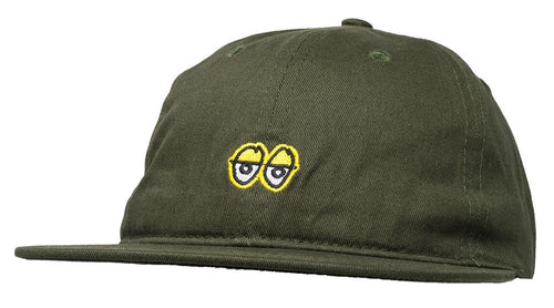 Krooked Eyes Strapback Cap - Dark Army