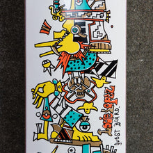 Load image into Gallery viewer, Krooked Louie Lopez Guest Model Deck - 8.25""
