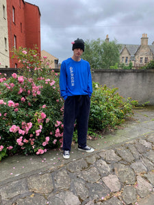 Garden Runner Longsleeve - Royal Blue