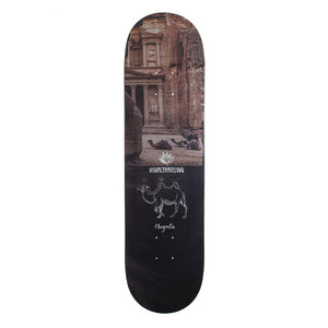 Magenta Visual Travelling Collab Deck - 8.125""
