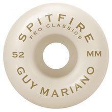 Load image into Gallery viewer, Spitfire Mariano Pro Classic 99d Wheels - 52mm