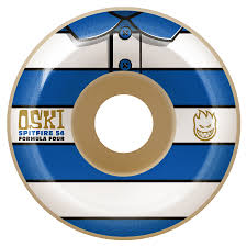 Spitfire Oski Stripes Formula Four 99d Wheels - 54mm