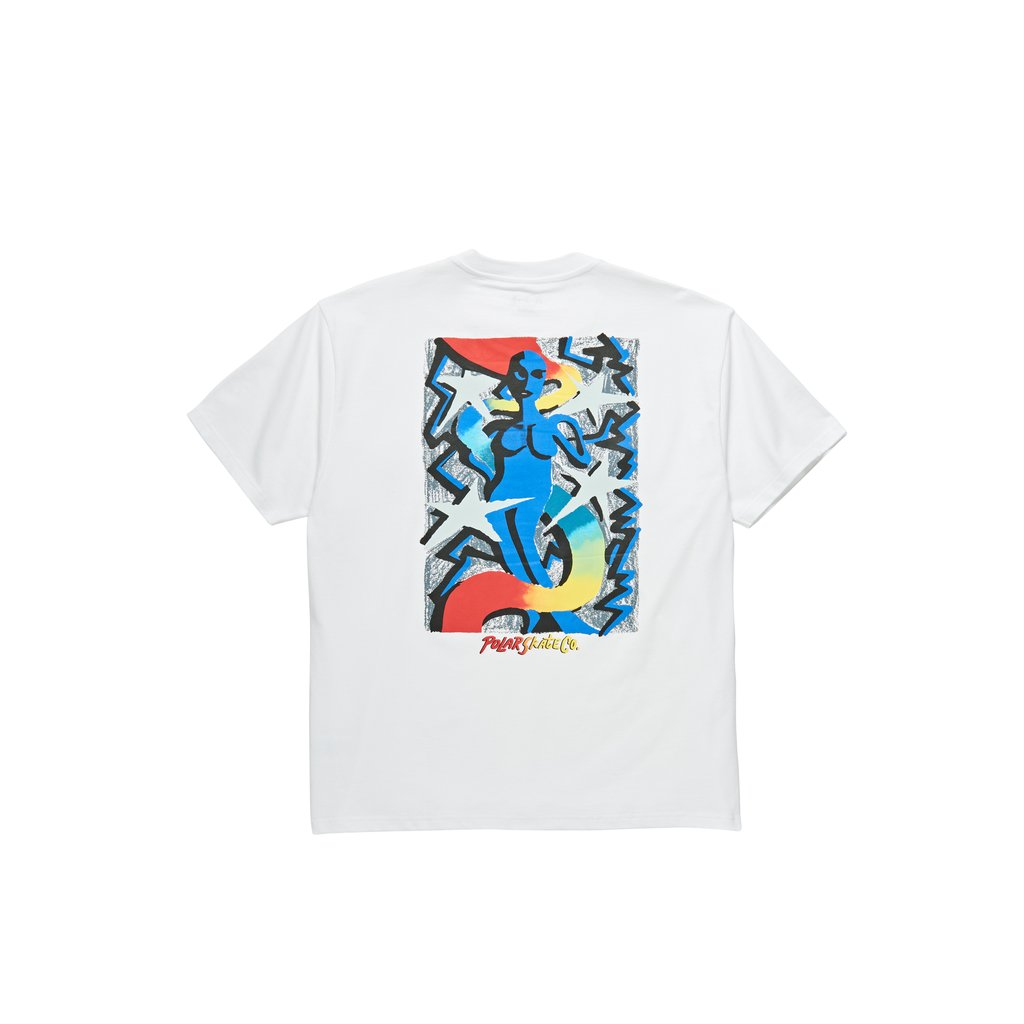 Polar Skate Co Queen Tee - White