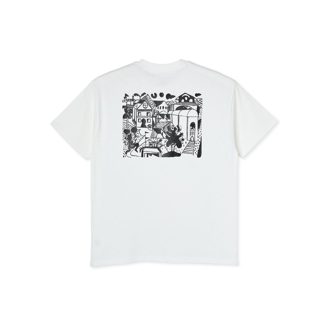 Polar Skate Co Weight Tee - White
